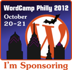 WordCamp Philly sponsor badge