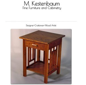m. kestenbaum website front