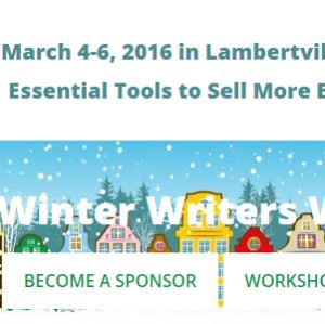 winter writers weekend website view