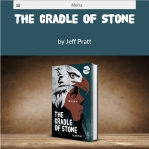 cradle of stone front of website