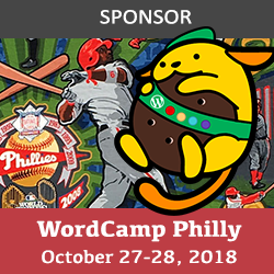 wordcamp philly 2018 logo