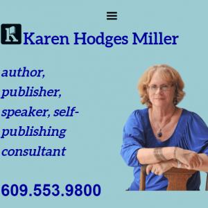 karenhodgesmiller.com front page