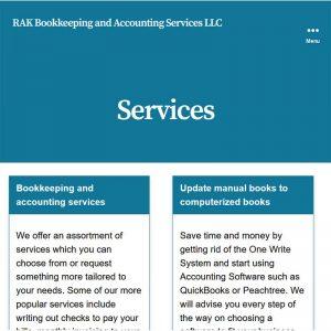 rakbookkeeping screenshot